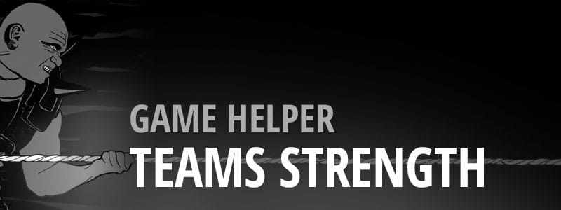 Game Helper - Teams Strength